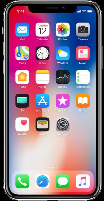 iPhone X vergelijker
